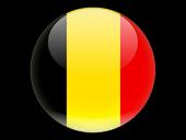 Vlag van Belgie Europa Continent